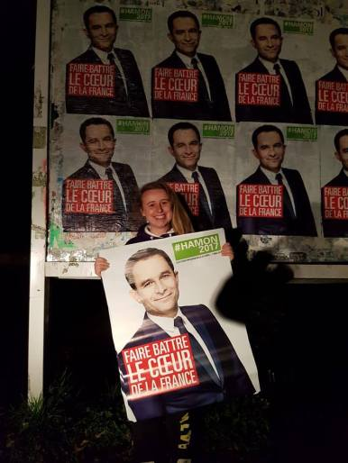 En collage pour #Hamon 2017 à Pau