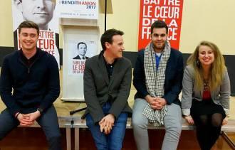 Les jeunes socialistes des Pyrénées-Atlantiques ont fait battre le Coeur de la France
