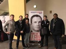 La team MJS 64 à Paris lors d'un meeting