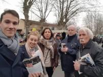 En diff avec les camarades du PS à Pau pour #Hamon2017