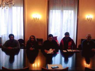 Le MJS 64 (Emilie Alonso), reçue en délégation à la préfecture, contre la loi travail