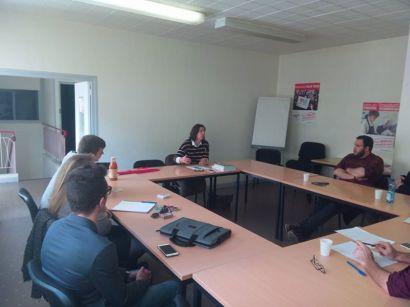 En AG à Pau avec pour invitée Nathalie Chabanne sur le thème de la loi travail