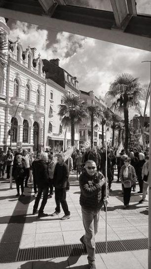 Toujours mobilisés contre la loi travail à Pau