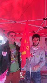Jeunes socialistes et communistes réunis