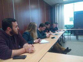 Intervention du MJS sur les extrêmes en réunion de section de Biarritz