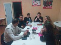 En AG à Orthez sur la situation municipale avec le leader de l'opposition socialiste
