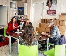 Grosse mobilisation pour la campagne de Nathalie Chabanne