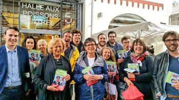 Le MJS 64 mobilisé pour la campagne de Sylviane Alaux aux législatives à Biarritz