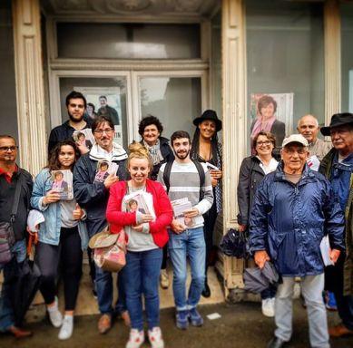 Le MJS 64 mobilisé pour la campagne de Colette Capdevielle aux législatives à Boucau