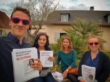 Boîtage du MJS Pau à Morlaàs pour Nathalie Chabanne