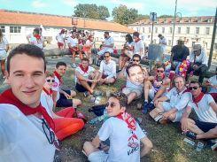 AG 2017 des fêtes de Bayonne avec des camarades de toute la France